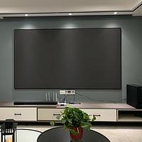 VCCG抗光投影幕台湾画框黑栅100/120寸超短焦菲涅尔激光电视硬幕