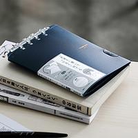 2020日本文具大赏COMPACK锦宫活页本创意可对折可拆卸八孔迷你学生笔记本B5活页纸kingjim替芯A4A5文具本子