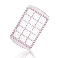 韩国原产RRE一粒粒食物储存格冰模制冰盒中款15格粉红
