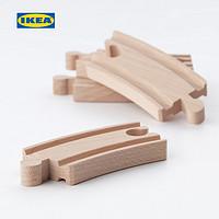 IKEA宜家LILLABO利乐宝玩具火车轨道套装玩具车益智组装玩具