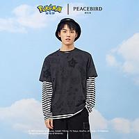 【商场同款】太平鸟男装宝可梦系列2020年新款短袖T恤B2DAA3F64