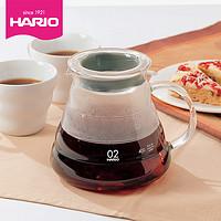 HARIO分享壶进口耐热玻璃咖啡壶家用分享云朵壶手冲咖啡分享壶XGS