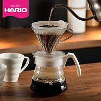 HARIO手冲咖啡壶套装V60经典款滴漏式咖啡分享壶家用办公用VCND
