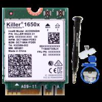 gxlinkstarkiller1650X/1550AC/1535AC无线网卡WiFi6蓝牙5.11650X2974M蓝牙5.1仅支持win10