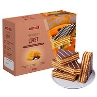 俄罗斯进口耶撒雅尼蜂蜜味提拉米苏320g/盒