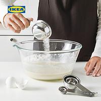 IKEA宜家VARDAGEN瓦达恩量杯5件套不锈钢量杯套装面粉筛烘焙工具