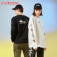 Kappa卡帕海贼王联名套头衫2020新款情侣男女休闲外套圆领卫衣