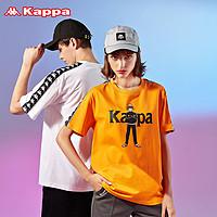 Kappa卡帕海贼王联名串标短袖2020新款情侣男女运动半袖夏圆领T恤