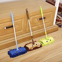 儿童拖把宝宝拖把迷你拖把角落清洁刷幼儿园小拖把过家家玩具