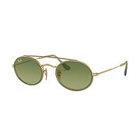 雷朋rayban眼镜金属双梁椭圆复古太阳镜男女士墨镜0RB3847N