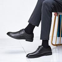 【头层牛皮】2020年新款正装鞋德比鞋男士商务皮鞋男士皮鞋
