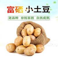 恩施小土豆新鲜蔬菜富硒马铃薯土特产黄心洋芋2500g马尔科土豆片