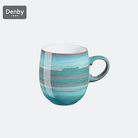 英国Denby蔚蓝海岸系列典藏马克杯水杯海岸线