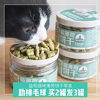 益和猫薄荷小鱼饼干猫零食猫咪用品宠物营养食品成幼猫磨牙小猫食