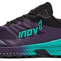 Inov-8女士TrailrocG280-越野跑鞋-*耐用-摇滚板-适合灰岩越野和超跑