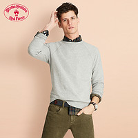 Brooks Brothers棉质混纺圆领卫衣