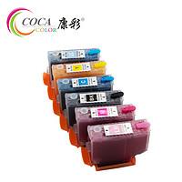 康彩适用爱普生EPSONXP8500XP8600XP8605打印机刷机填充墨盒连续供墨系统连供墨盒墨水