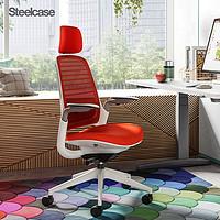 SteelcaseSeries1人体工学电脑椅靠背办公椅子护腰可躺商务转椅