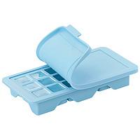 乐扣乐扣冰格冰块模具硅胶制冰盒制冰器宝宝辅食冰箱家用磨具带盖