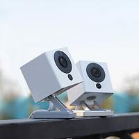 华来小方智能摄像头高清家用无线宠物监控器手机wifi小米米家APP互联摄像机360全景云台可选