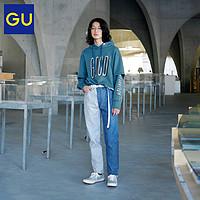 GU极优男装修身牛仔裤(水洗产品)MY333497