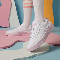 特步XTEP小清新配色时尚女款板鞋