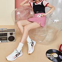 【唯品专供】特步XTEP潮流舒适女款老爹鞋运动休闲鞋