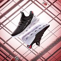 特步XTEP男童中大童减震旋跑鞋网面透气运动鞋