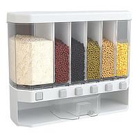 多用途家用计量分格装米桶米缸五谷杂粮透明收纳盒分类储米箱分隔