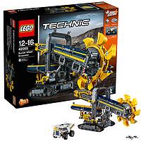【乐高认证店】乐高(LEGO)积木玩具科技机械组系列42055大型斗轮式挖掘机
