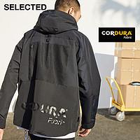 SELECTED思莱德新品CORDURA运动户外男装夹克外套S|421121040