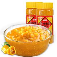 海南南国黄灯笼辣椒酱500gx2瓶特辣型蒜蓉黄辣椒酱共2瓶每瓶500克