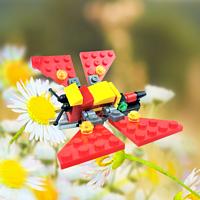 创益科技小制作DIY机器人BEAM昆虫机械蝴蝶--振动机器昆虫