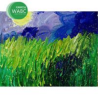 WABC无障碍艺途 捷麟《春之月》装饰画