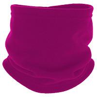 迪卡侬护颈围脖男女户外保暖秋加厚抓绒儿童套头脖套WEDZE2青少年紫红色