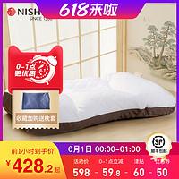 日本东京西川护颈枕头成人可调节软管枕芯家用水洗睡眠保健颈椎枕