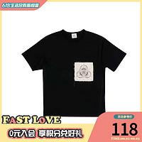 丝叔潮社 ClotXFragmentXInnersect 三方联名T恤
