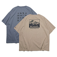 COLUMBIA FREAKSSTORE公园鱼饵印花T恤