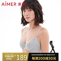 爱慕悦动内衣女夏薄大胸显小软钢圈聚拢大罩杯文胸AM121931S