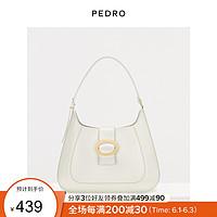 【薇娅推荐】腋下包PEDRO女士插带饰通勤单肩手提包PW2-35060006