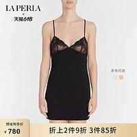 【春夏钜惠】LAPERLA女士睡衣PRIMULA莫代尔蕾丝吊带短款睡裙