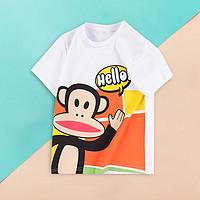 【21年夏季新品】男女童街头风趣味卡通透气舒适儿童短袖T恤