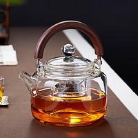 玻璃蒸煮茶壶单壶家用耐热高温加厚大号电陶炉烧水泡茶器茶具套装