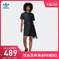 阿迪达斯官网adidas三叶草女装春夏季运动连衣裙GN3274GN9464