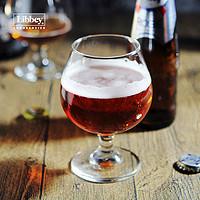 利比德国精酿啤酒杯大号郁金香酒杯加厚家用创意矮脚白兰地酒杯