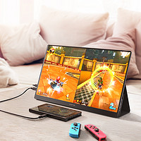 CFORCE便携式显示器15寸4K便捷手机外接屏PS4扩展屏无线触控笔记本电脑分屏副屏switch外接屏幕便携显示屏
