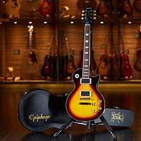 世音琴行EpiphoneLP/LesPaul枪花乐队Slash签名限量款电吉他SlashLPSTDNV黑黄