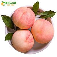 现摘正宗无锡阳山水蜜桃5两8只多汁白凤湖景桃新鲜水果顺丰礼盒8个盒装(单果5-6两)