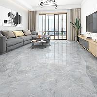 东鹏瓷砖大理石纹理地砖800x800灰色瓷砖地板砖客厅现代奥尔凯灰