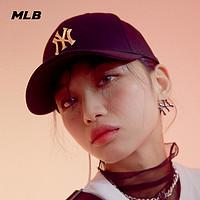 MLB官方 男女帽子硬顶棒球帽潮流时尚运动鸭舌帽21年新款CPLF